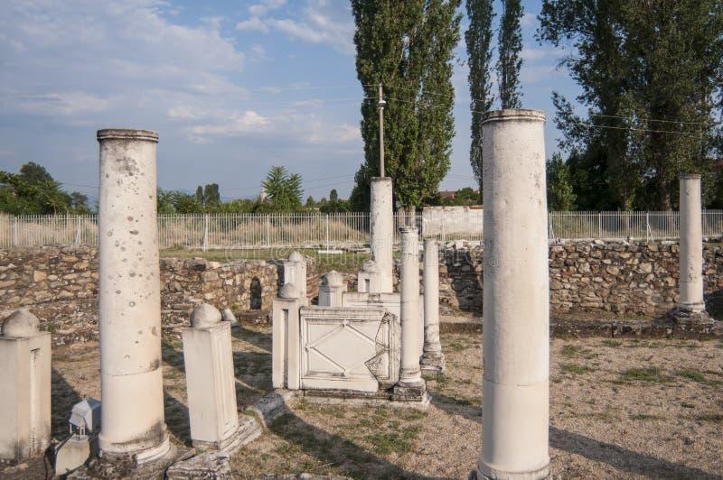 Lyncestis république de Macédoine l'Europe de Heraclea photos libres de droits