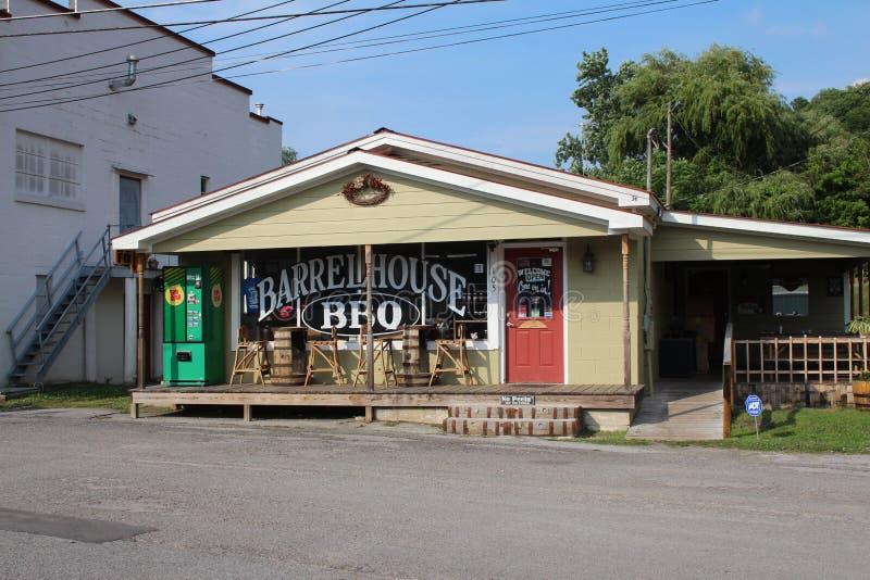 Lynchburg BBQ royalty free stock image
