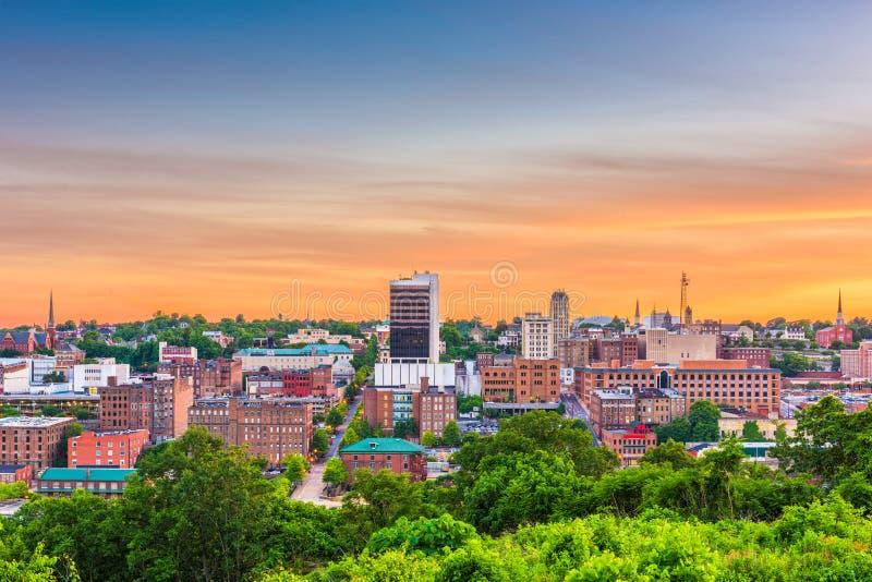 Lynchburg, la Virginie, Etats-Unis image libre de droits