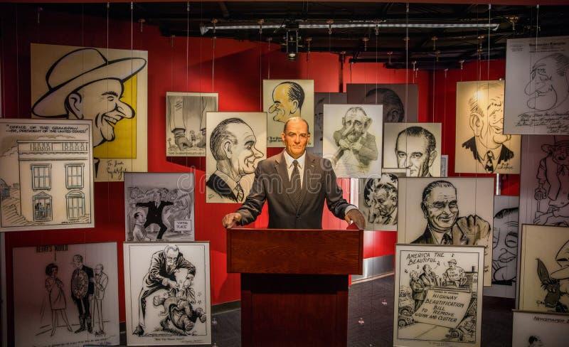 Lyndon Baines Johnson fotos de stock royalty free