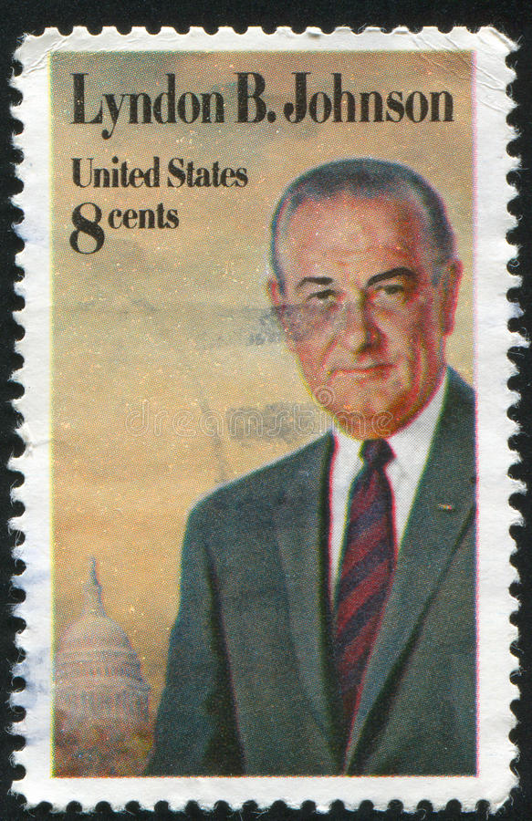 Lyndon Johnson royalty free stock photos