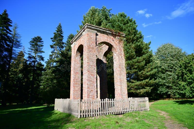 Lynfordarboretum in het UK royalty-vrije stock afbeelding