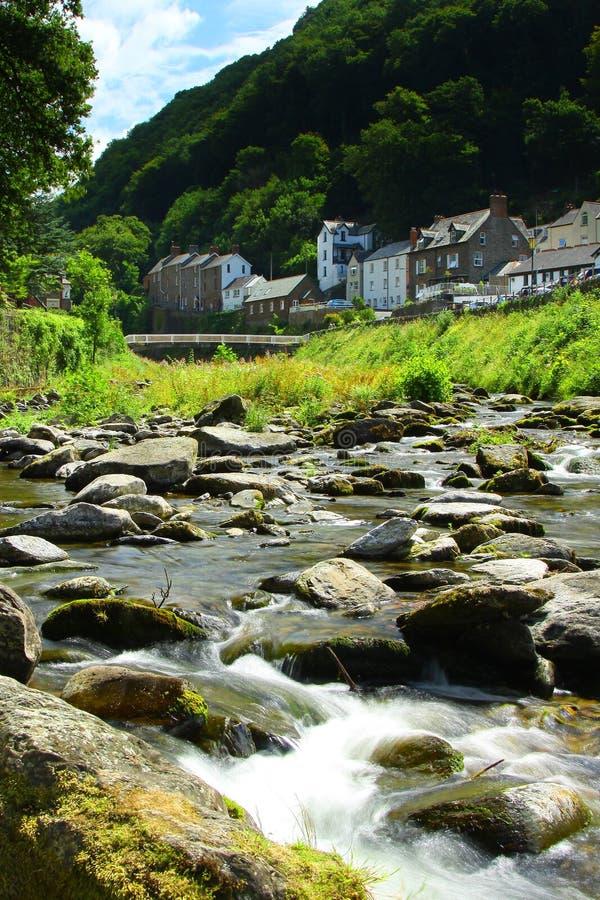 Download Lynmouth, Devon, England , Exmoor Stock Image - Image: 15429667