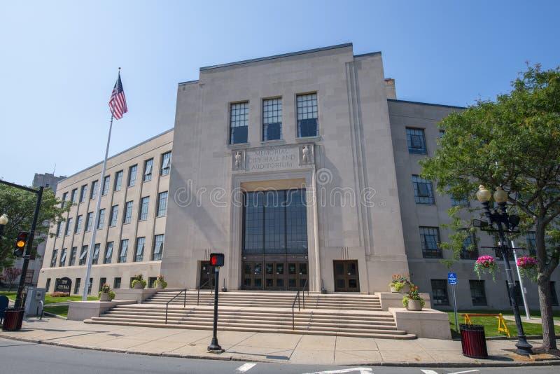 Lynn市政厅, Lynn,美国马萨诸塞州 库存照片