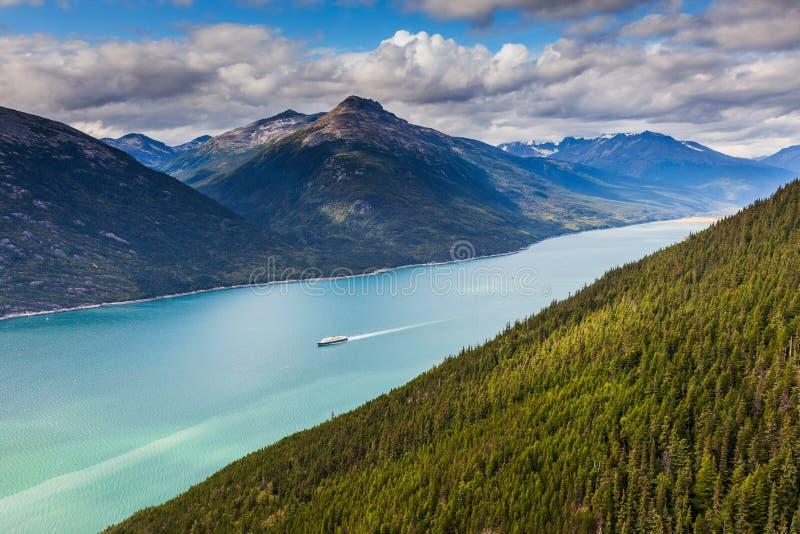 Lynn Canal, Alaska lizenzfreie stockbilder