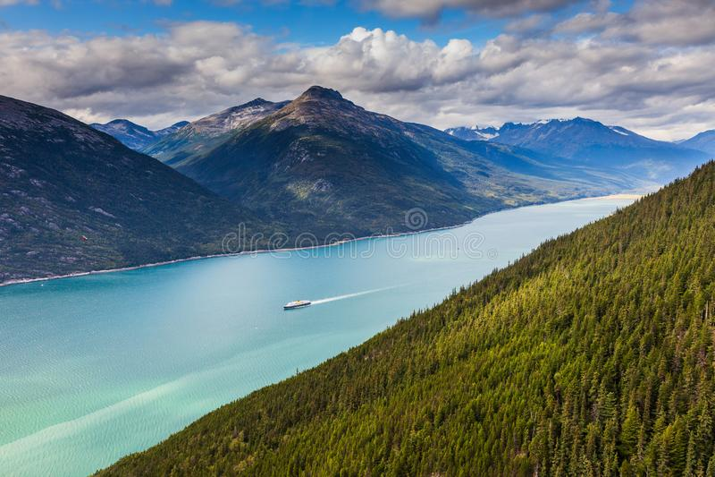 Lynn Canal, Alaska royalty free stock images