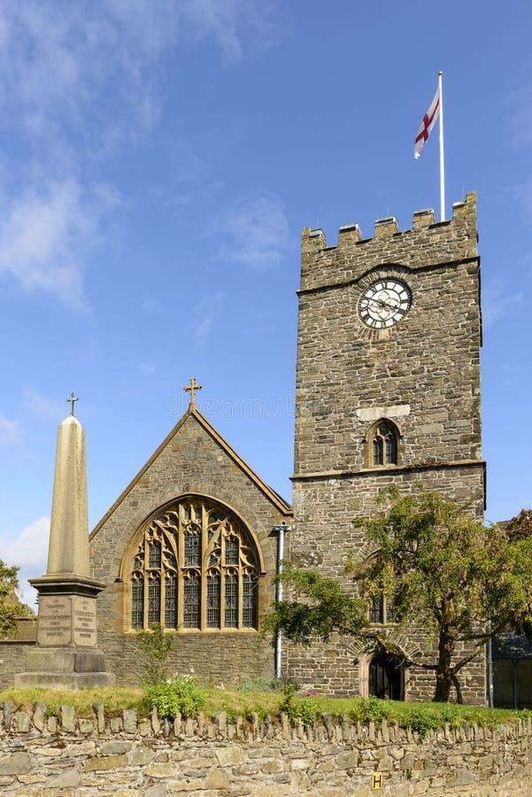 Lynton kościół, Devon zdjęcia stock