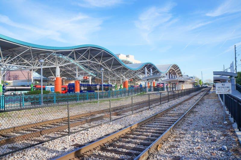 Lynx Central Station, SunRail Train, Lynx Bus Terminal