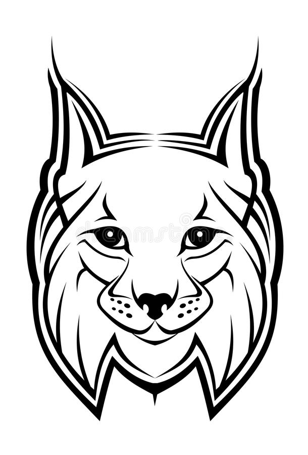 Download Lynx mascot stock vector. Illustration of design, cruel - 10611795