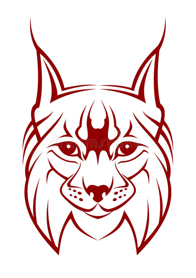 Lynx Mascot Stock Images