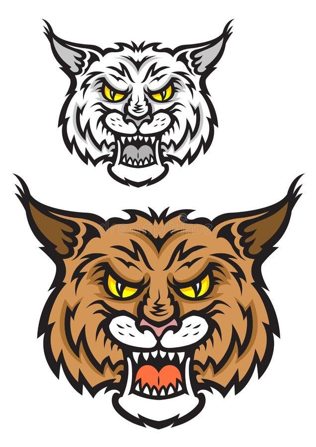 Download Lynx Mascot Stock Photo - Image: 32633890