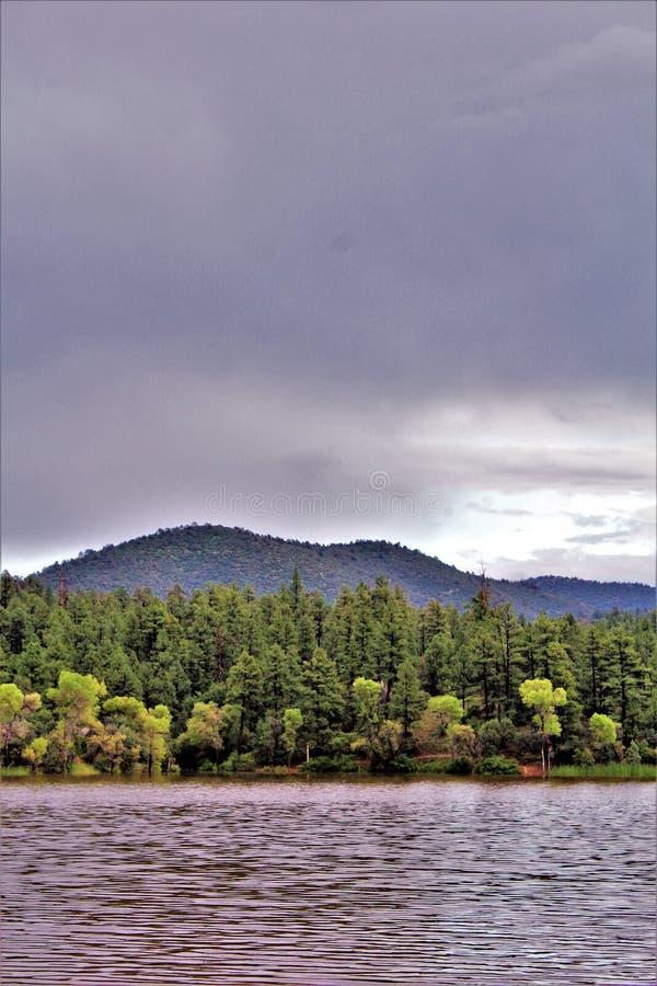 Lynx See, Bradshaw-Revier, Prescott National Forest, Staat Arizona, Vereinigte Staaten stockbilder