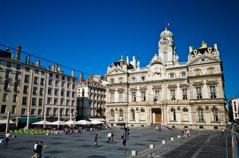 Lyon-alte Stadt lizenzfreies stockfoto