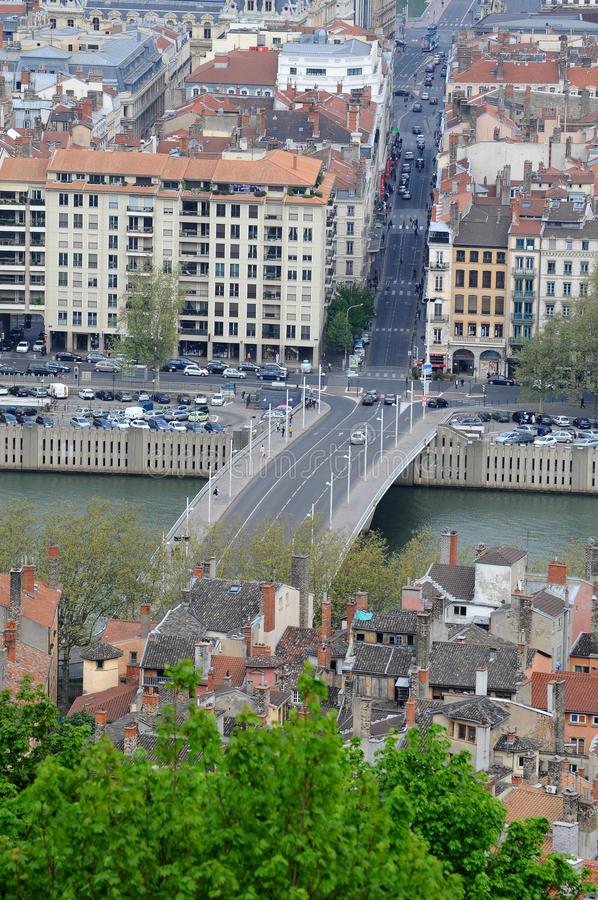 Download Lyon City Center stock image. Image of central, europe - 18411349