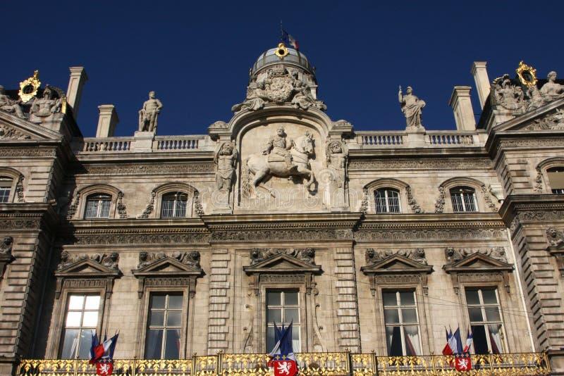 Download Lyon City Hall stock image. Image of window, lyon, hall - 9869117