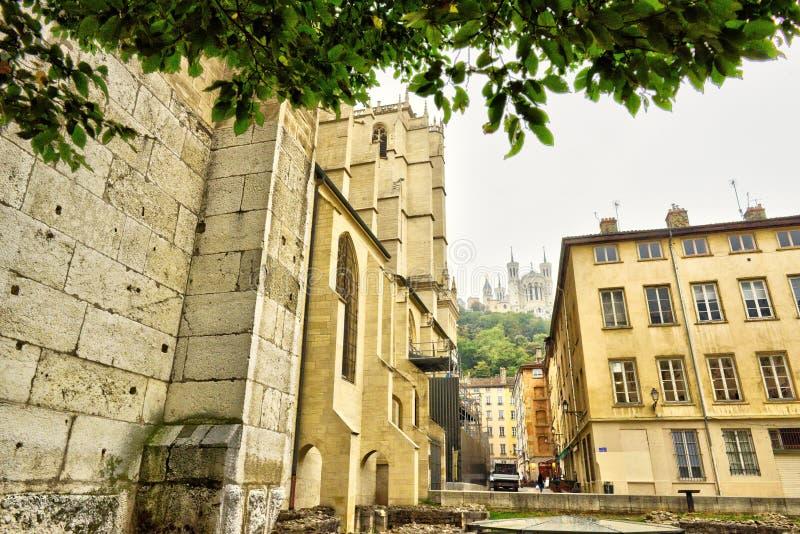 Lyon cityscape, Views of Lyon city, France, Travel Europe royalty free stock image