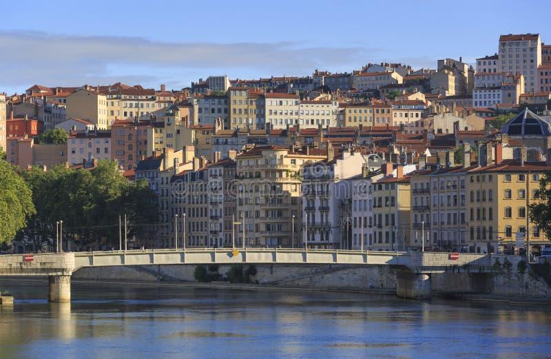 Lyon Croix-Rousse imágenes de archivo libres de regalías