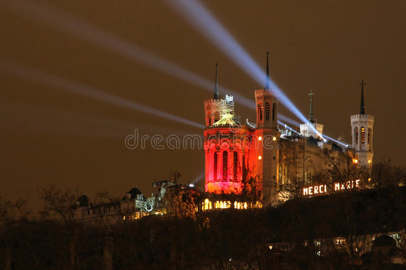 Download Lyon Festival Of Lights Editorial Stock Photo - Image: 17396413