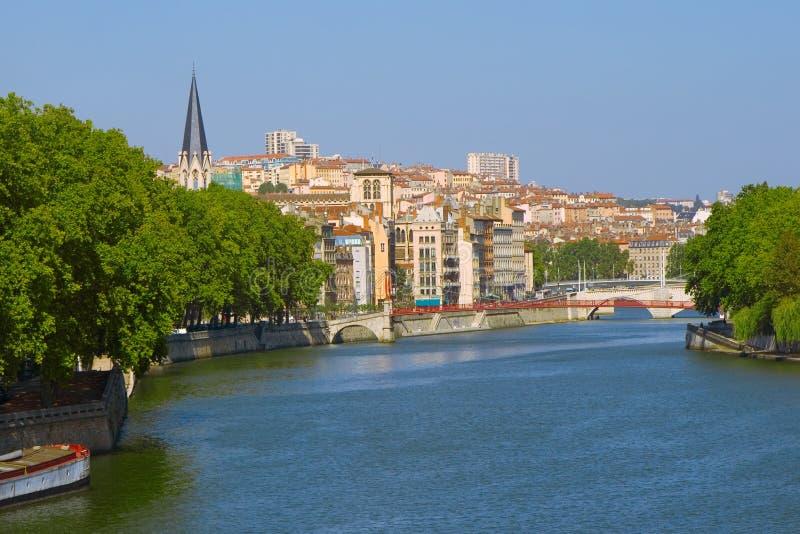 Lyon france obrazy royalty free