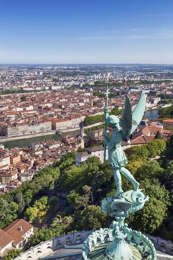 Lyon Frankrijk stock foto
