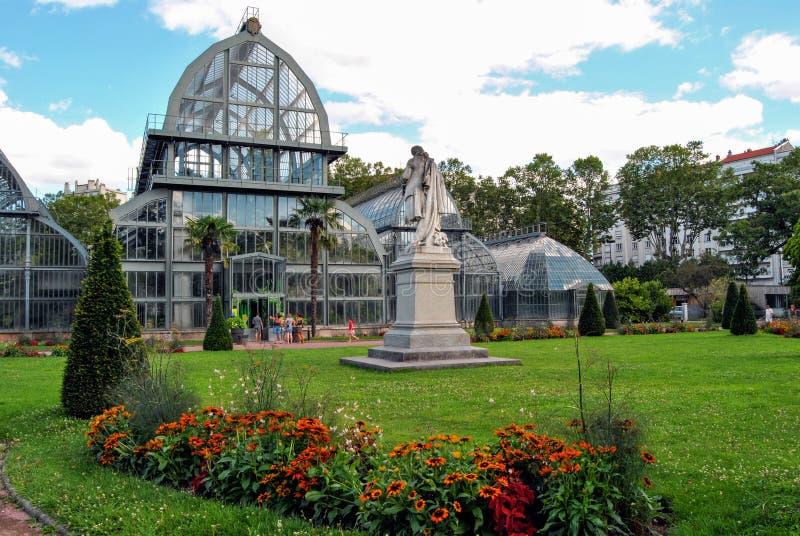 Lyon jardin botanique de parc d 39 or de tete image stock - Jardin botanique de lyon ...