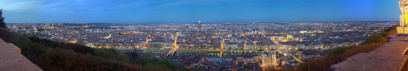 Lyon. La France photo stock