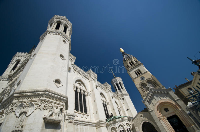 Download Lyon Notre Dame stock photo. Image of columns, religious - 10597106