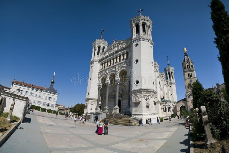 Lyon Notre Dame lizenzfreie stockfotografie