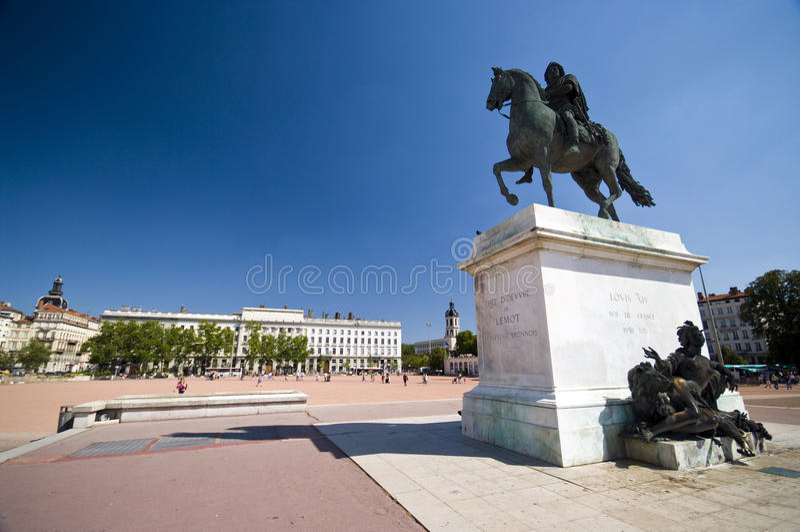 Lyon-Piazza stockfotos