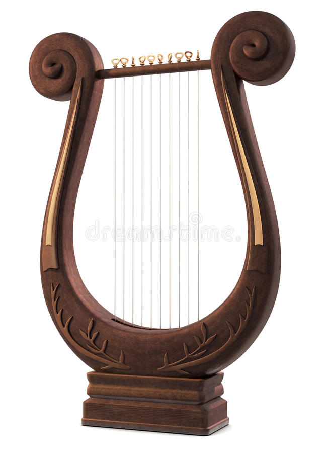 Free Lyre Royalty Free Stock Images - 9421019