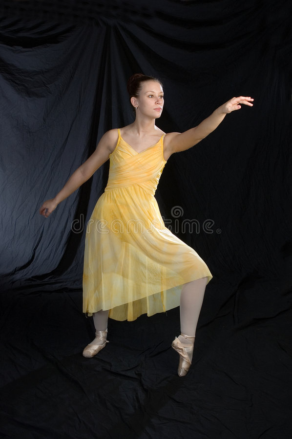 Lyrical Ballet royalty free stock photography