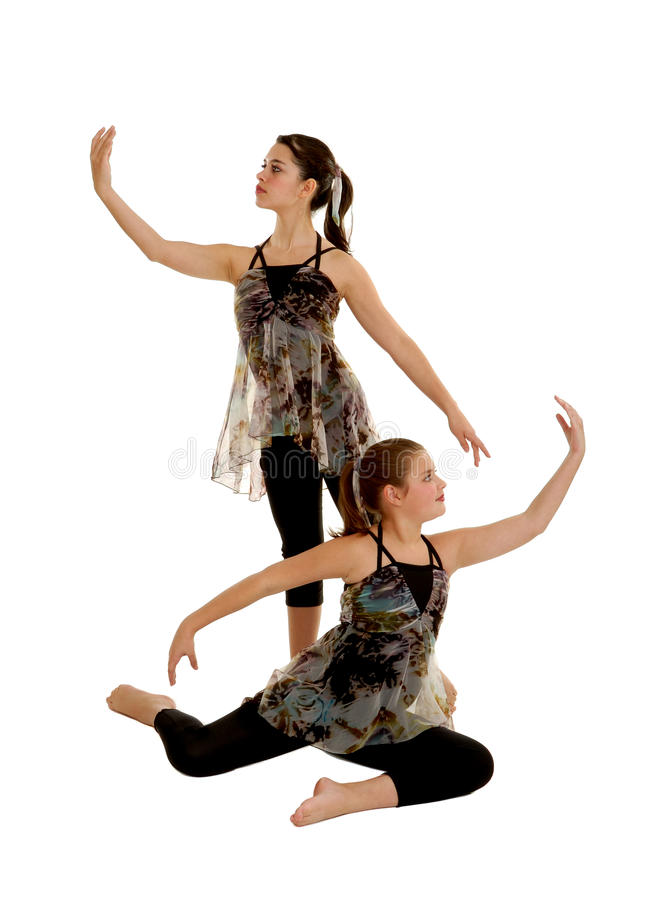 Free Lyrical Dance Duo Royalty Free Stock Images - 23036979