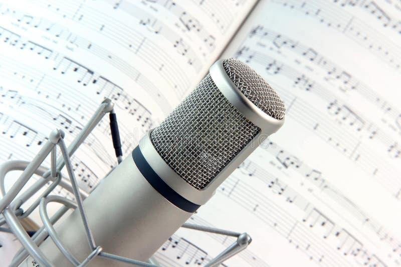Lyrics and music stock image