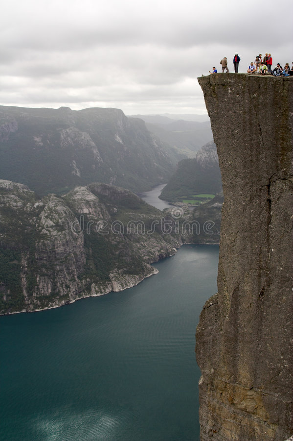 Free Lyse Fjord And Preikestolen Stock Images - 1012964