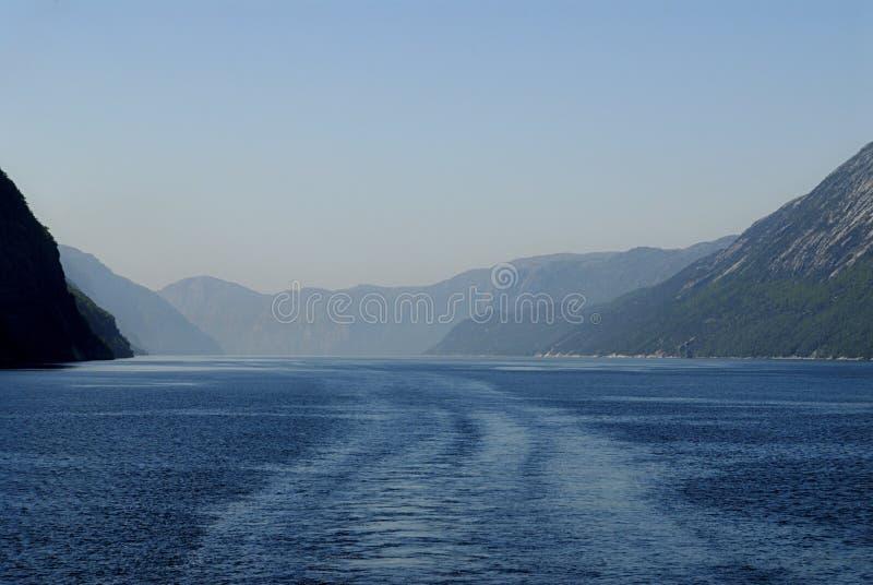 lysefjord στοκ φωτογραφία με δικαίωμα ελεύθερης χρήσης
