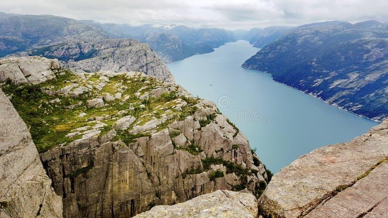 Lysefjord fotografia de stock royalty free