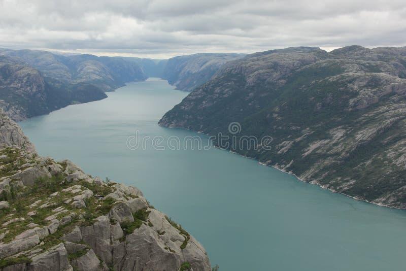 Lysefjord imágenes de archivo libres de regalías