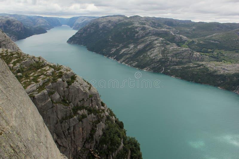 Lysefjord imagen de archivo