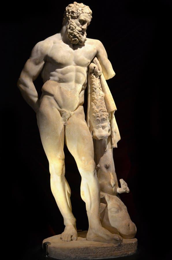 Lysippos Hercules foto de stock