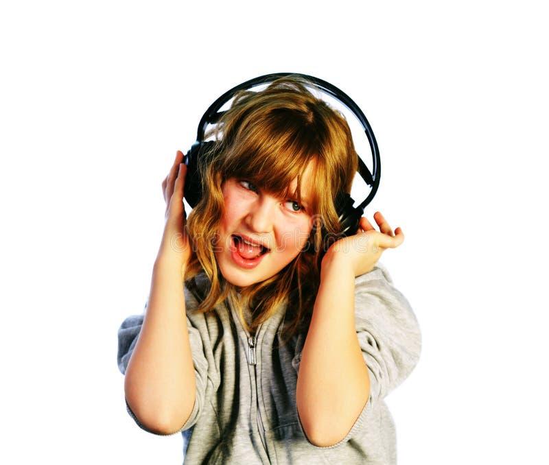lyssnande sjunga arkivbilder