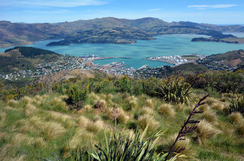Lyttelton Christchurch - Νέα Ζηλανδία στοκ εικόνες με δικαίωμα ελεύθερης χρήσης