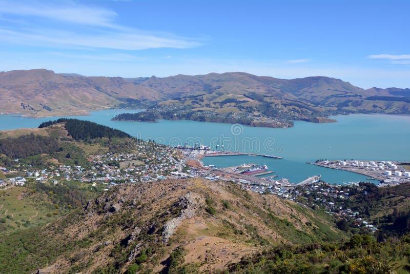 Lyttelton Christchurch - Nieuw Zeeland royalty-vrije stock fotografie