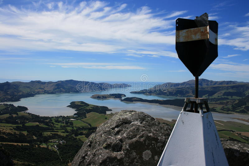 Download Lyttelton Harbour, New Zealand Stock Image - Image: 14818687