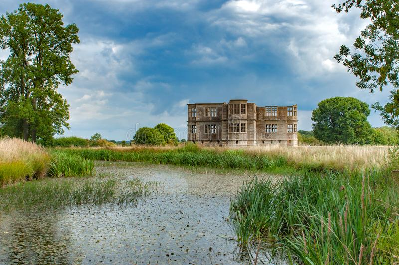 Lyveden Nieuwe Bield, Engeland stock foto