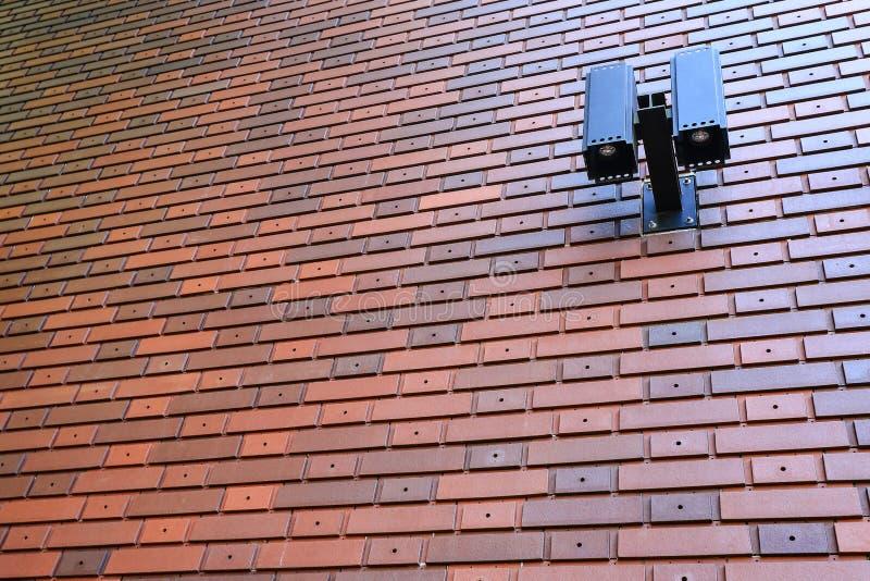 Lyxig Brickwall modell arkivfoton