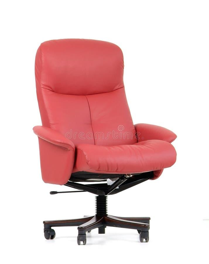 lyxig kontorsred för stol royaltyfri bild
