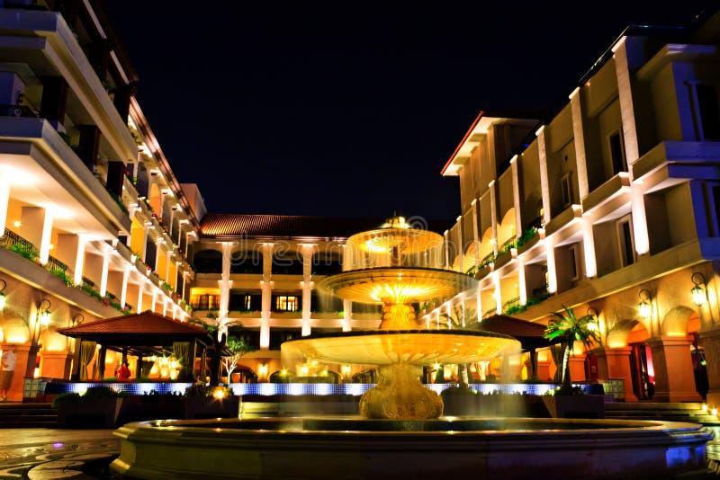 lyxig malacca för hotell natt arkivbilder