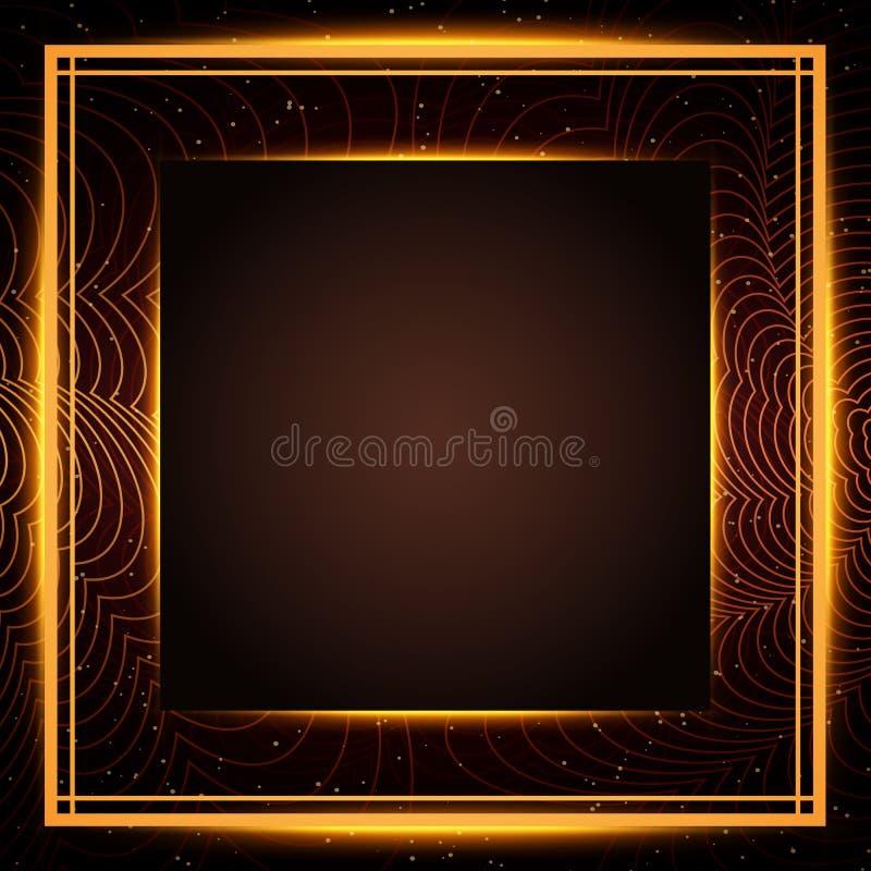 Lyxig r?d och guld- bakgrund Design f?r presentationen, konsert, show arkivfoton