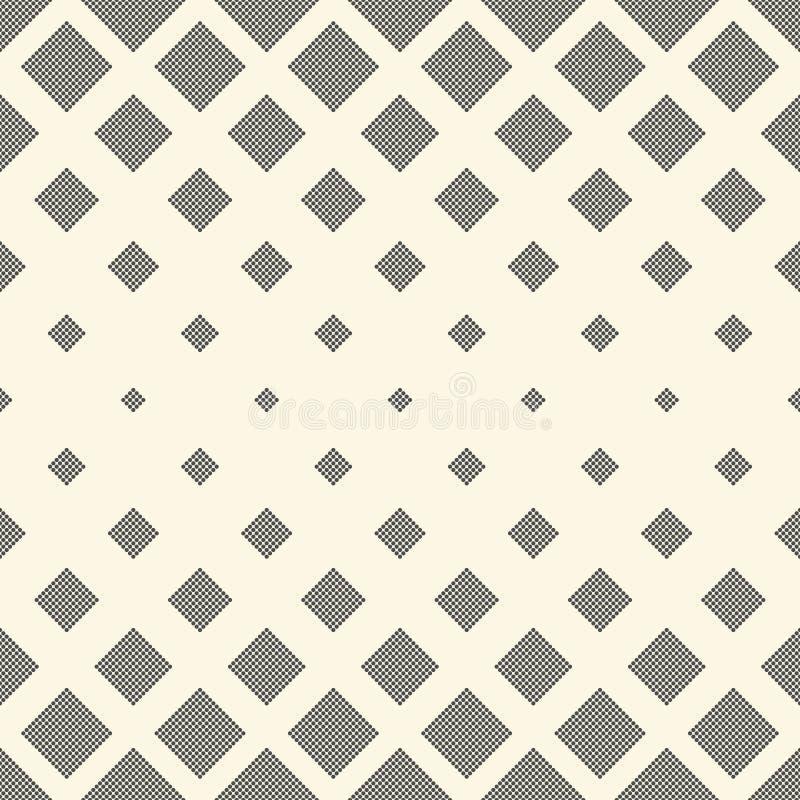 lyxig seamless wallpaper Vektormonokrom Dot Background stock illustrationer