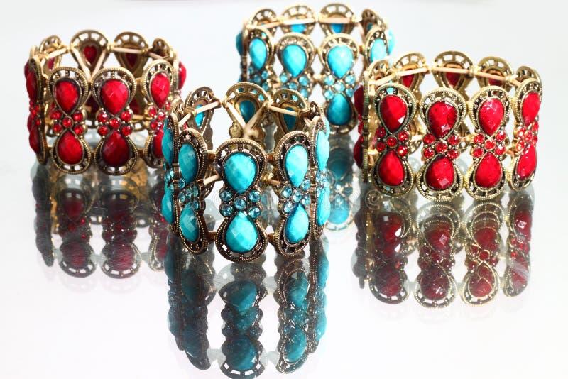 Lyxiga armband royaltyfria bilder